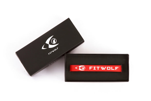 Fitwolf Wrist Band - Red