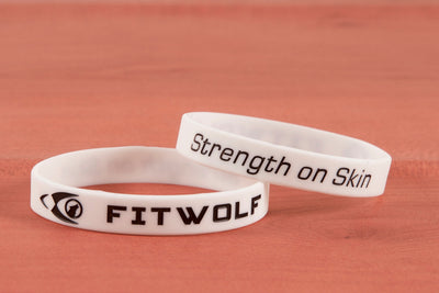 Fitwolf Wrist Band - White