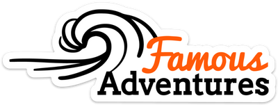 Famous Adventures Stickers - Famous Adventures
