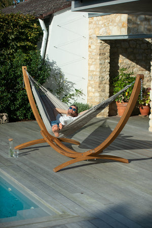 Elipso Nature Larch Stand For Kingsize Hammocks