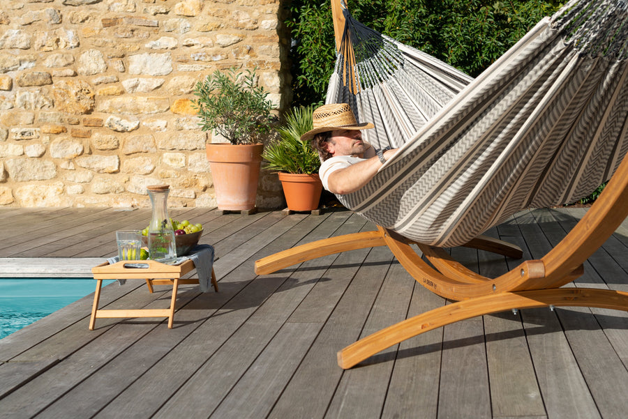 Elipso Nature Larch Stand For Single Hammocks