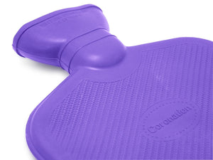 Coronation 1.5 Litre Plain Sides Rubber Hot Water Bottle (20 Assorted Units)