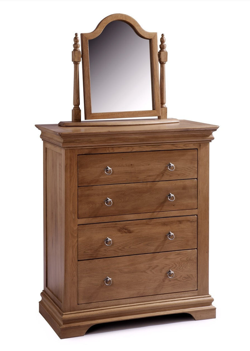Bellerose 4 Drawer Chest Wide
