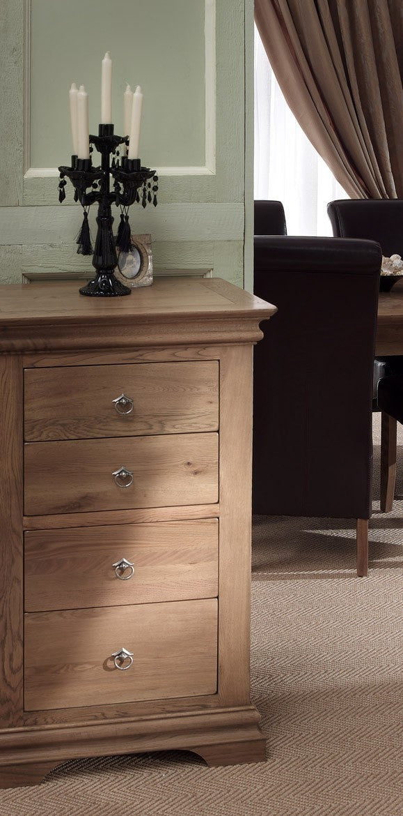 Bellerose Narrow 4 Drawer Chest