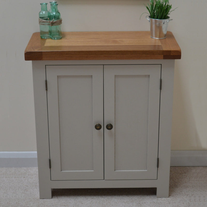 Bishop Painted 2 Door Linen Cupboard / Storage Unit