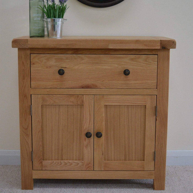 Canton Oak Mini Sideboard