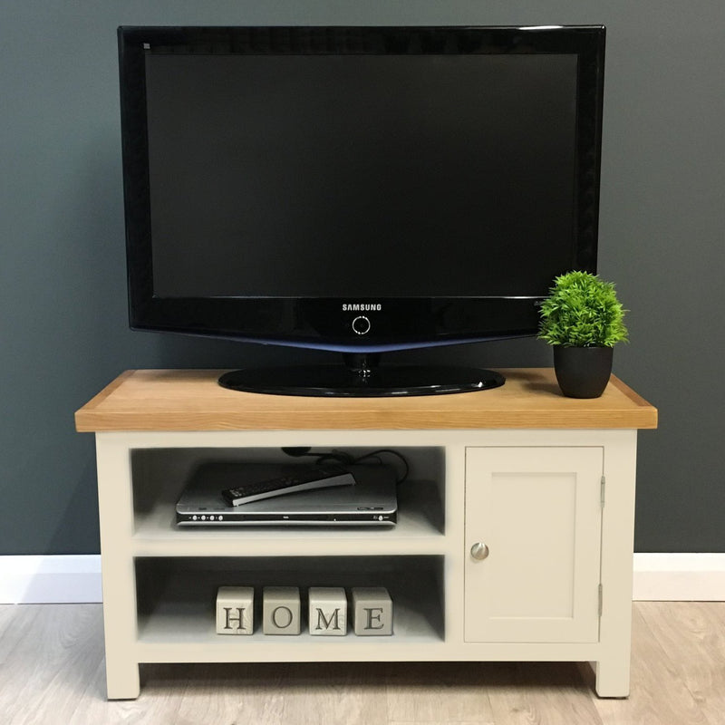 Chester Painted Oak Small TV Unit