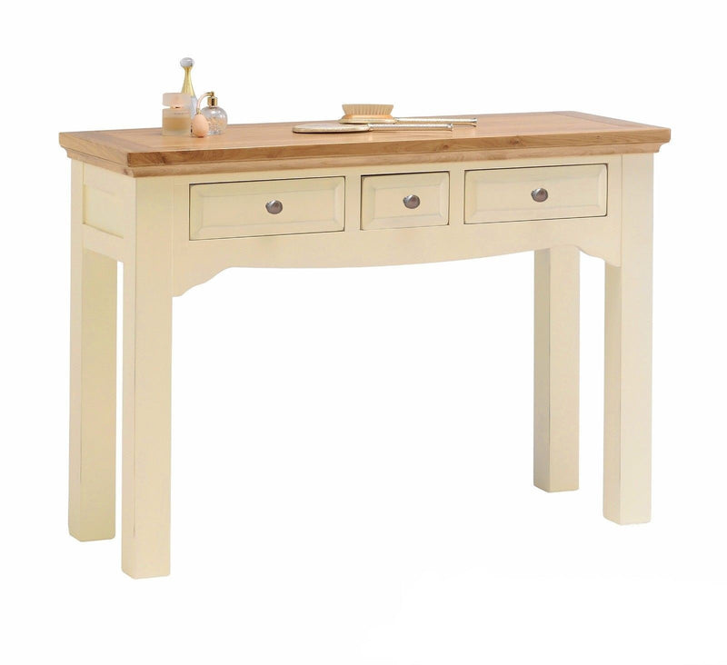 Cornwall Cream Painted Oak Dressing Table