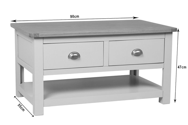 Essex Painted Storage Coffee Table