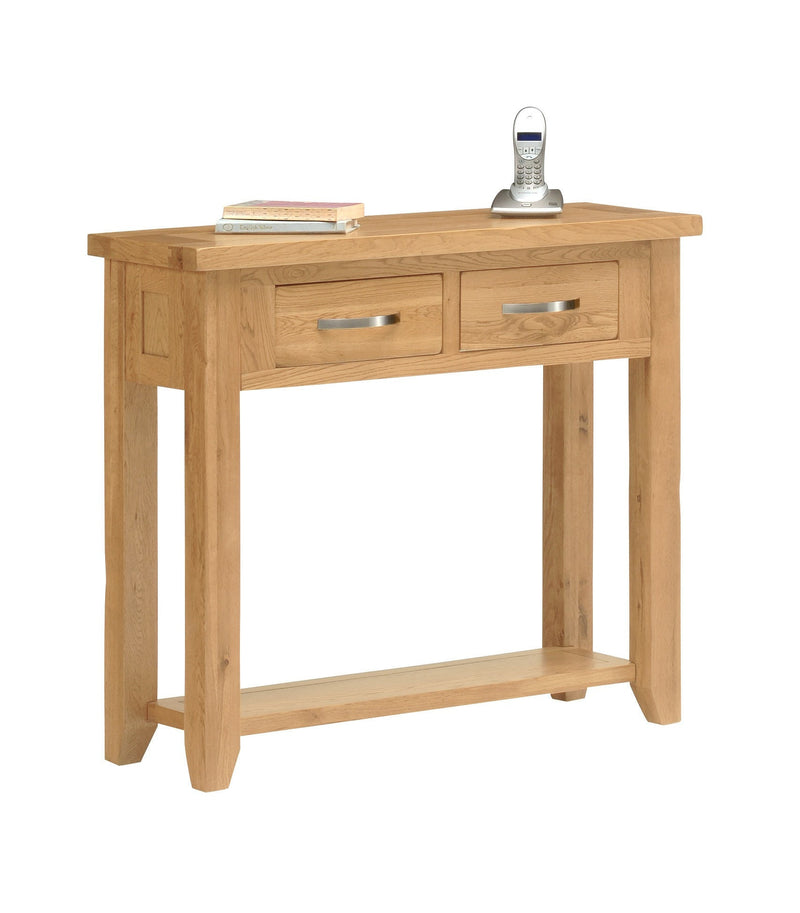 Hampshire Oak Hall Table