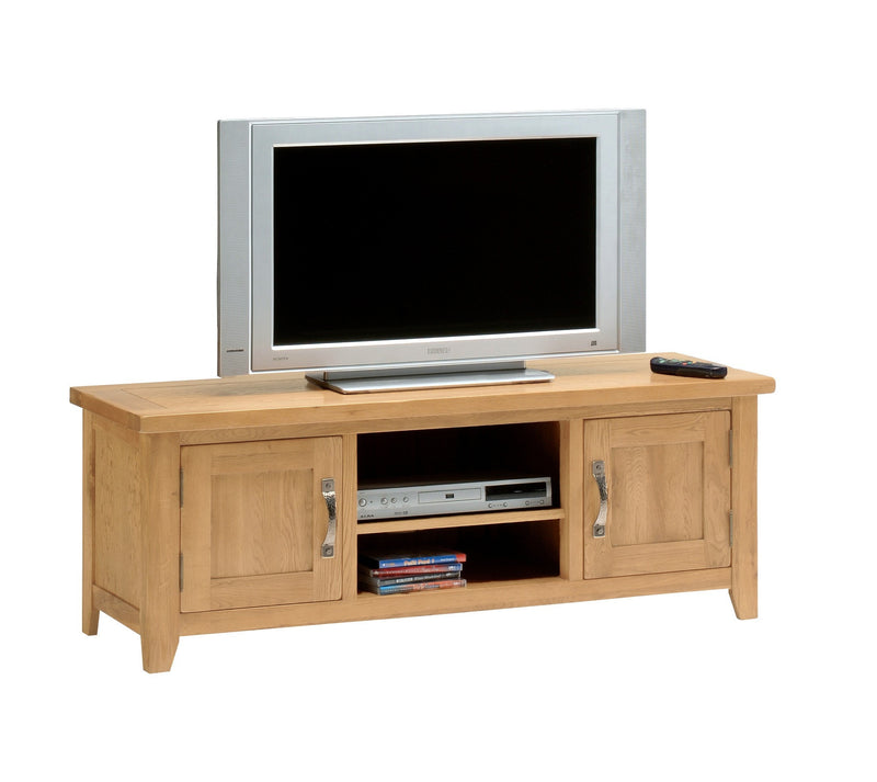 Hampshire Oak Plasma TV Stand