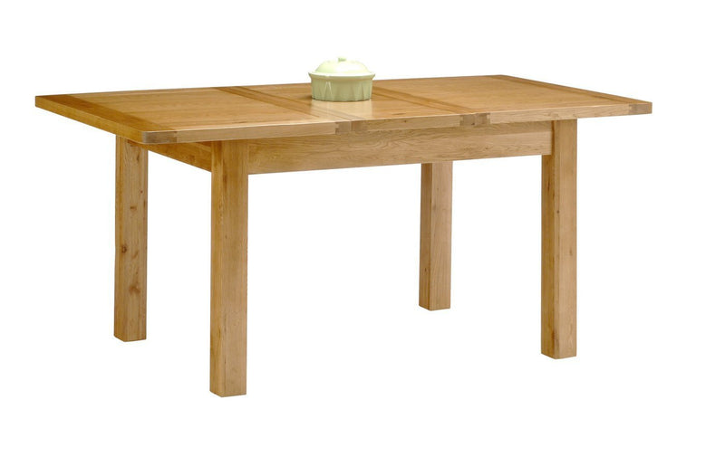 Hampshire Solid Oak Small Dining Room Table / Extendable