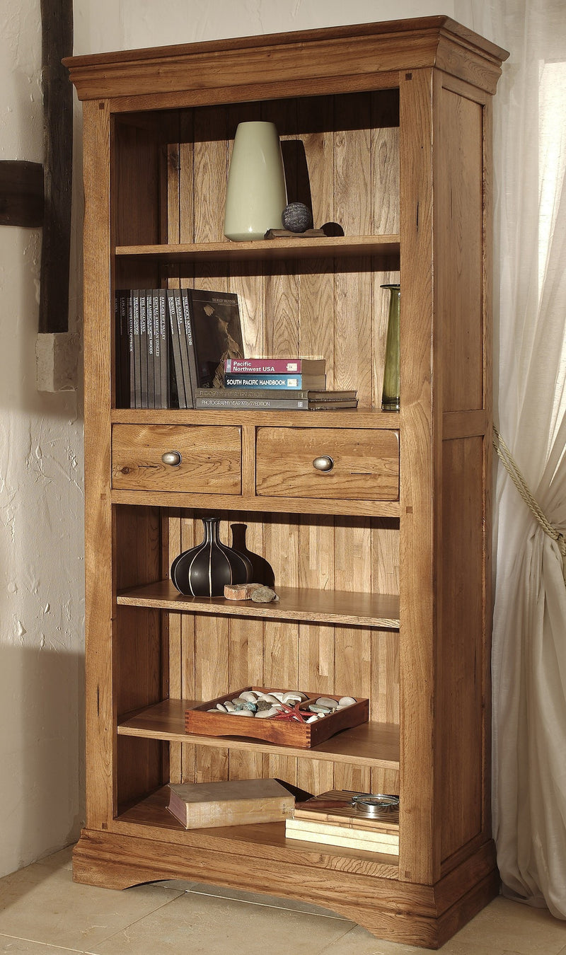 Hampton Oak 6 x 3 Bookcase
