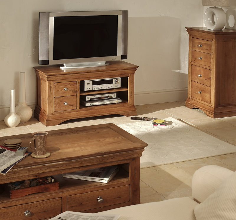 Hampton Oak Plasma T.V Unit
