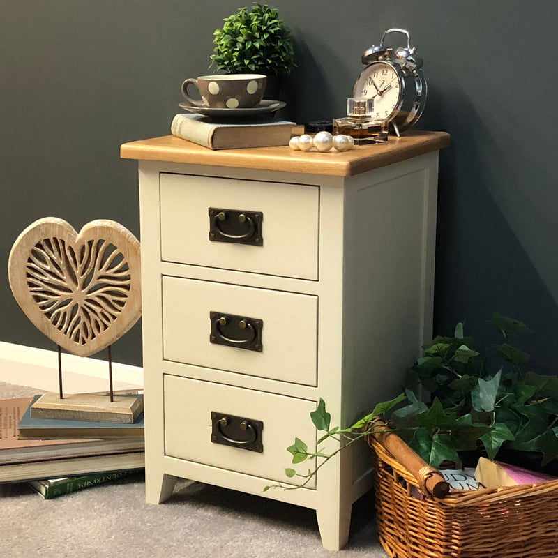 London Painted Bedside Chest of Drawers