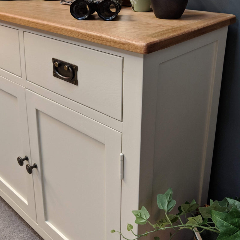 London Painted Oak Small Sideboard