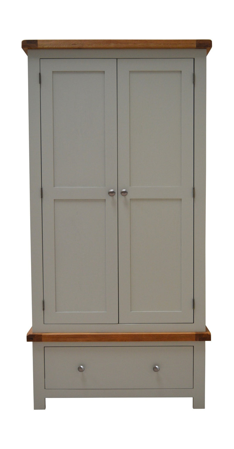 Milton Painted 2 Door Wardrobe