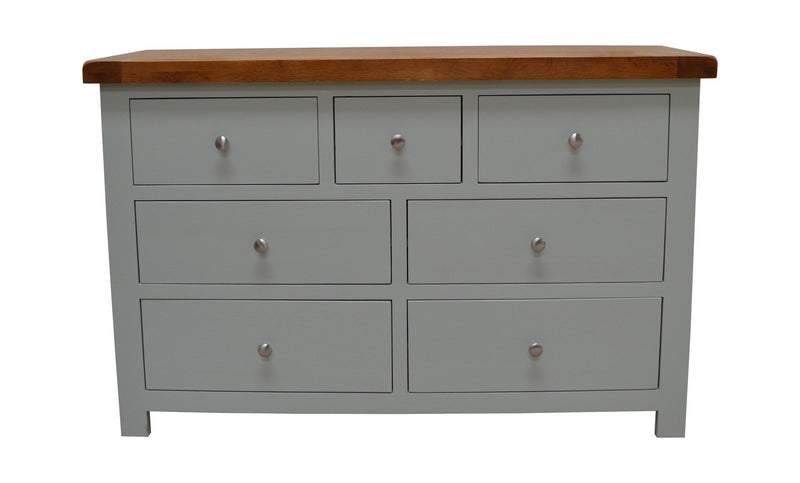 Milton Painted 7 Drawer Multi Chest of Drawers