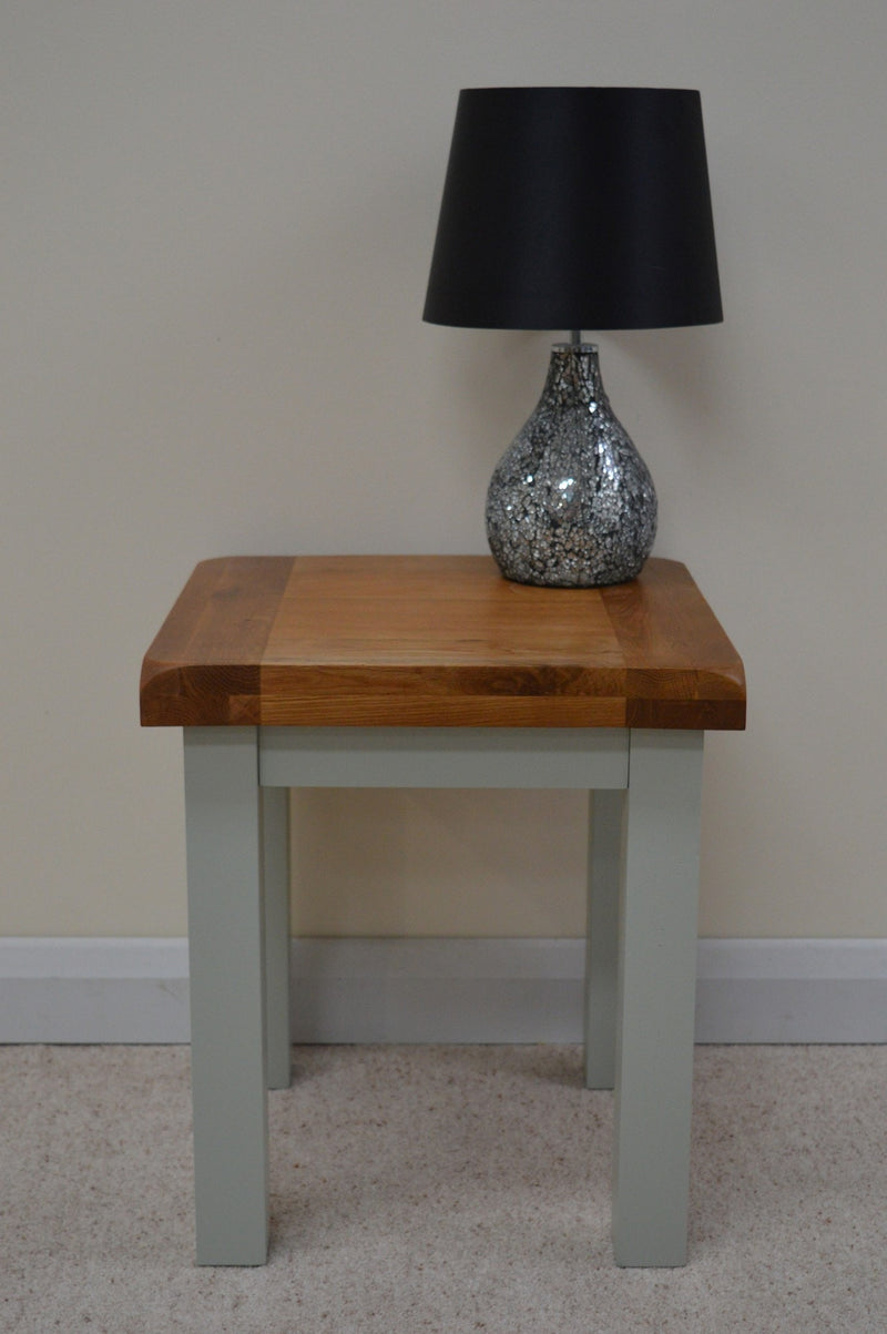 Milton Painted Lamp Table / End Table