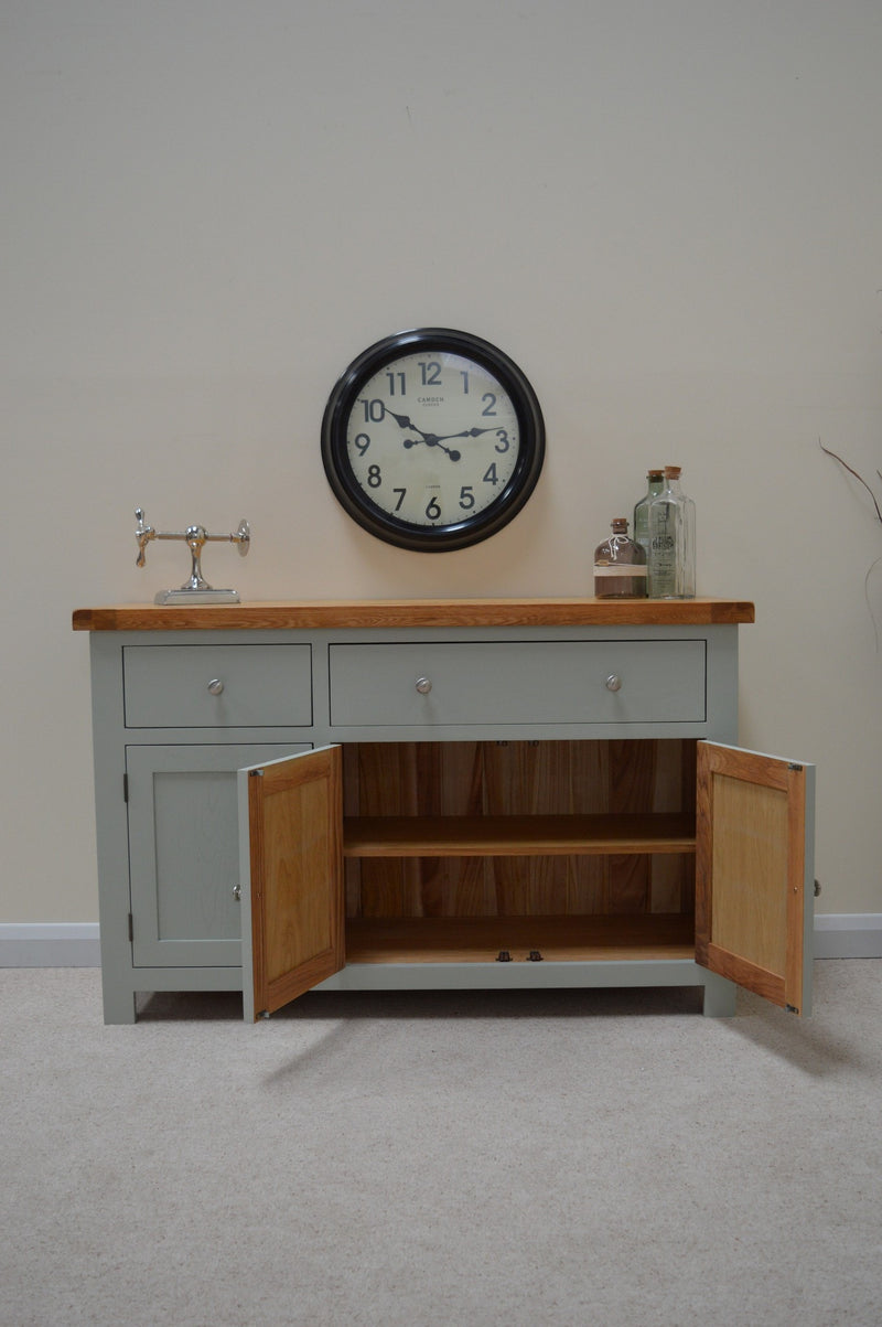 Milton Painted Large Oak Sideboard