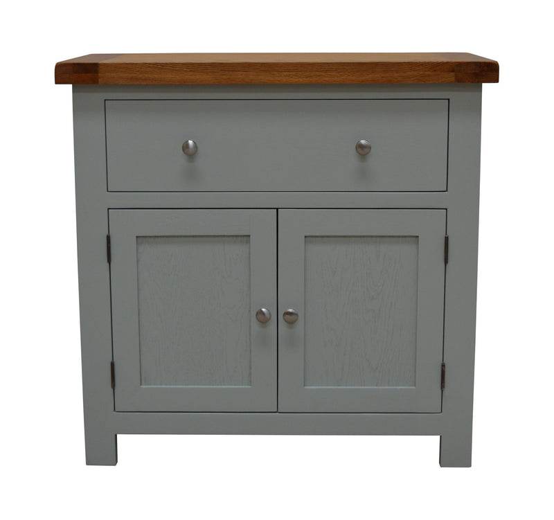 Milton Painted Mini Sideboard Twin Cupboard / Twin Drawer