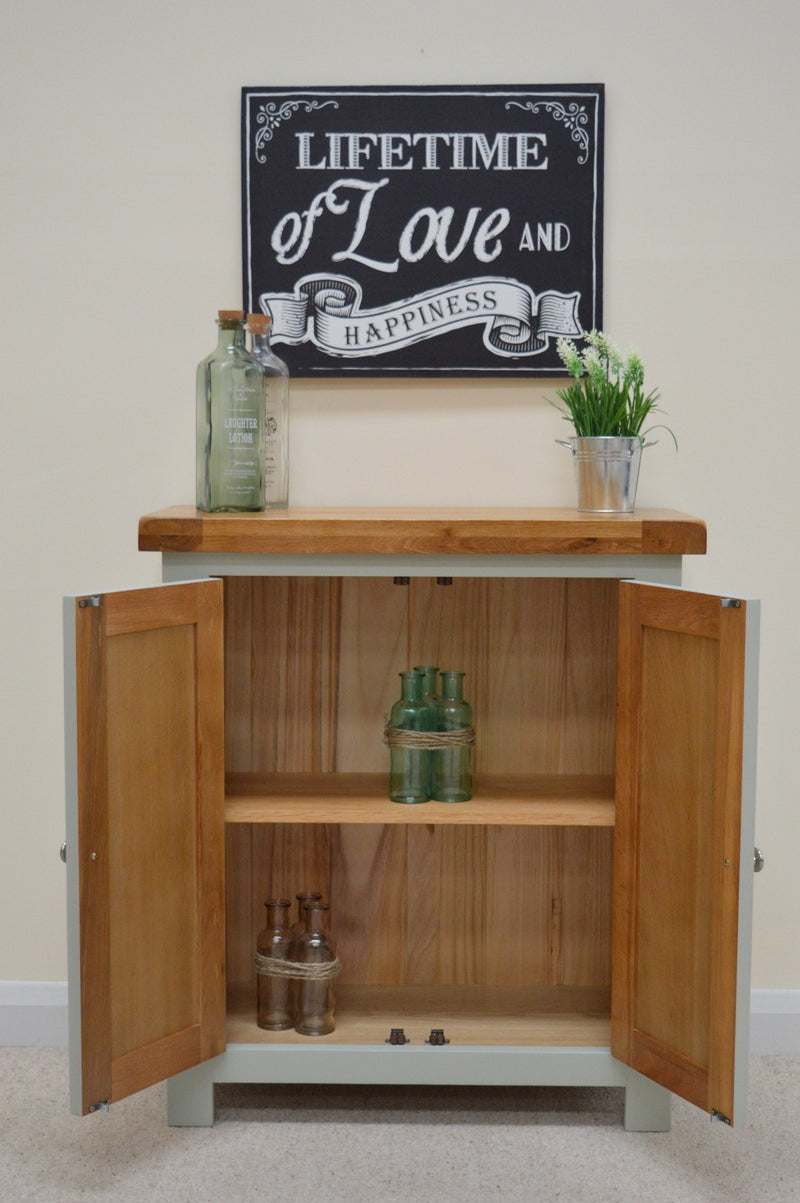 Milton Painted Oak Linen Cabinet