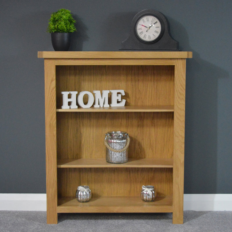 Oaksby Small Oak Bookcase