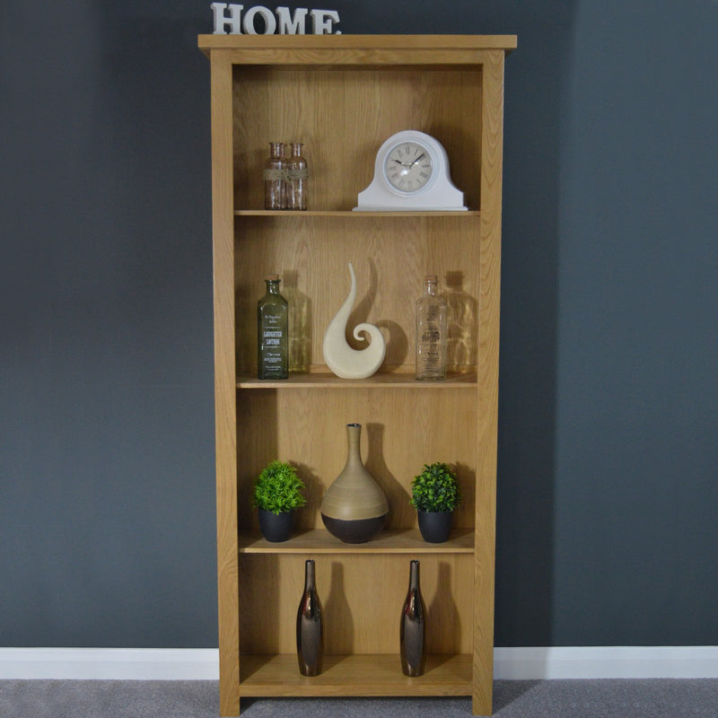 Oaksby Tall Oak Bookcase