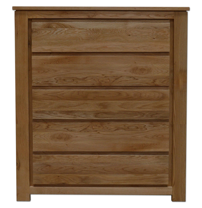 Stanford 5 Drawer Wide Chest