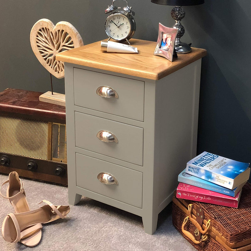 Wembley Painted Bedside Chest of Drawers