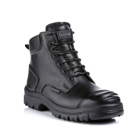 Super Tough, Waxy Leather, Cut Resistant Glass Boot