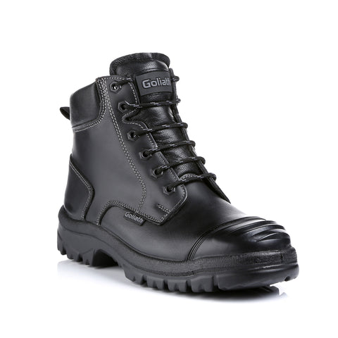 Super Tough Waxy Leather Dual Density Rubber Sole Boot