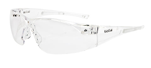 Bollé RUSH PC Frame Clear Lens Spectacle c/w Adjustable Neck Cord