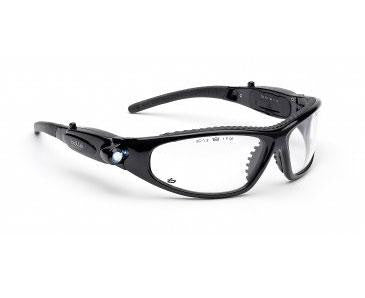Bolle Galaxy L.E.D. Clear Safety Spectacles