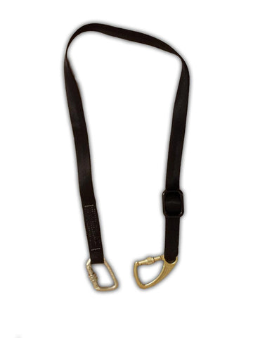 1.5m Adjustable Restraint Lanyard with Screwgate Hooks