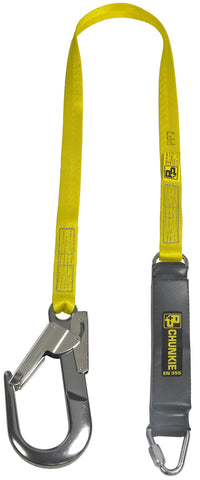 1.75m fall arrest Lanyard complete with 60mm dual action snap hook