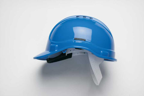 Blue HC300VEL Vented Safety Helmet Elite