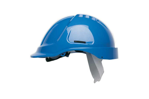 Blue HC600 Unvented Safety Helmet