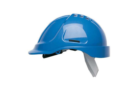 Blue HC600 Vented Safety Helmet