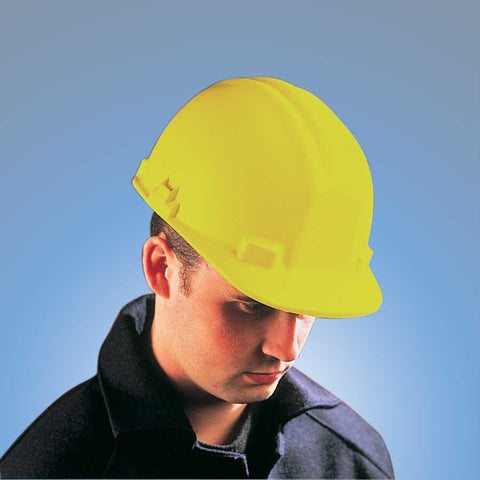 Yellow Vulcan Fibreglass Safety Helmet