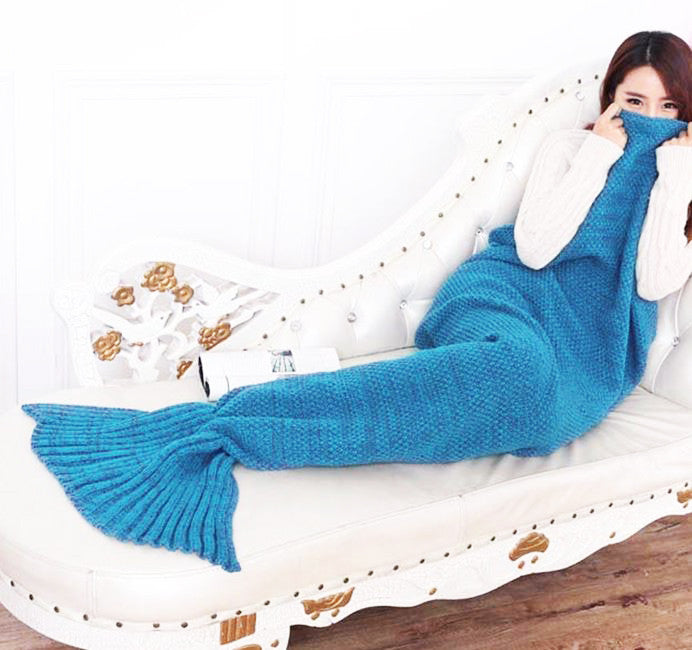 Crochet Mermaid Tail Sofa Blanket Awesome Buy Costumes
