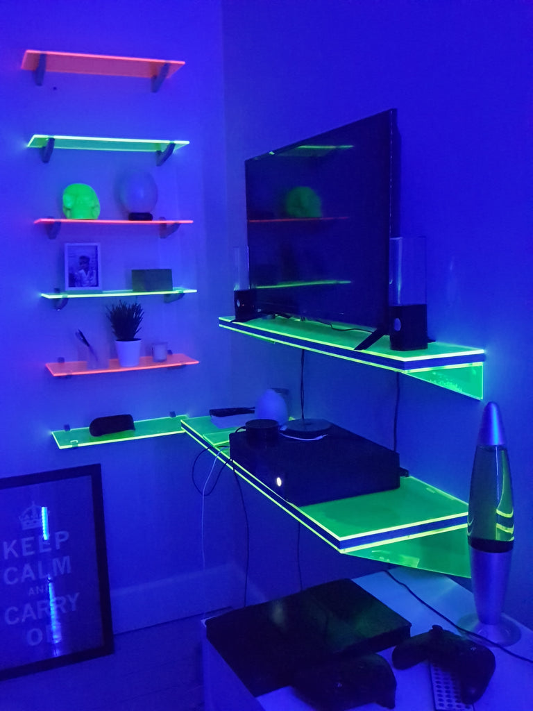 Florescent Shelving