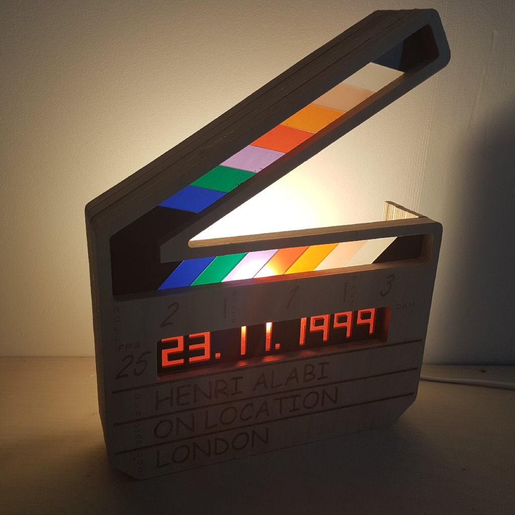Clapperboard Light