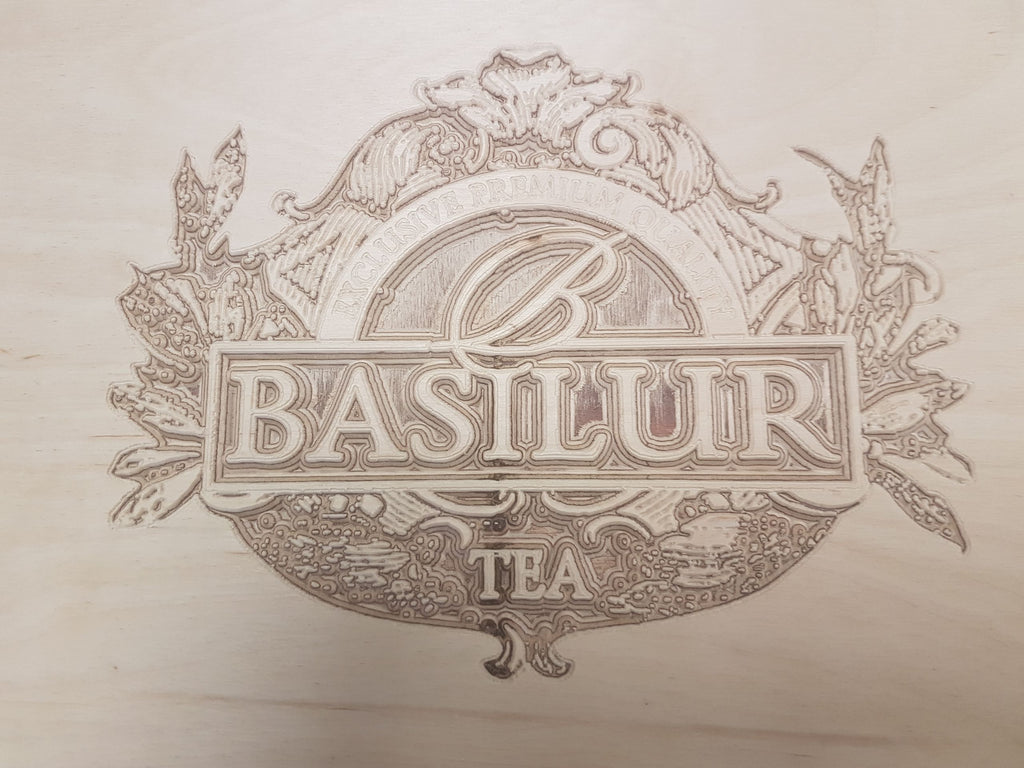 Basilur Tea Point of Sale Stand
