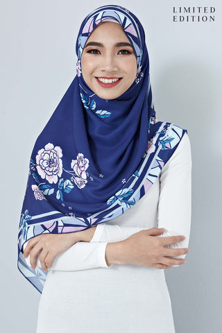 [LIMITED EDITION] Almira Scarf in Navy Blue