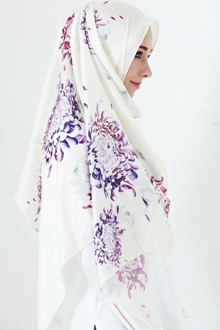 [LIMITED EDITION] Alyssia Scarf in Aloe Prints