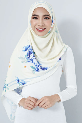 [LIMITED EDITION] Nurin Scarf in Light Yellow