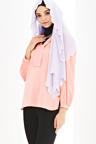 Beatrice Top in Salmon Pink