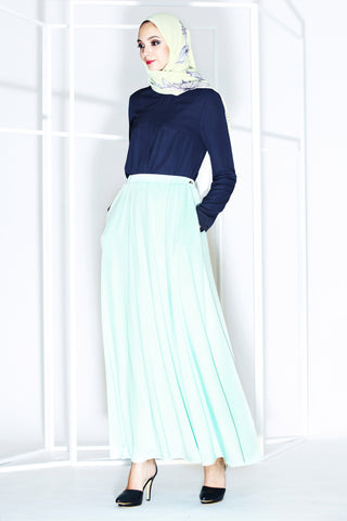 Jemma Skirt in Tiffany Blue