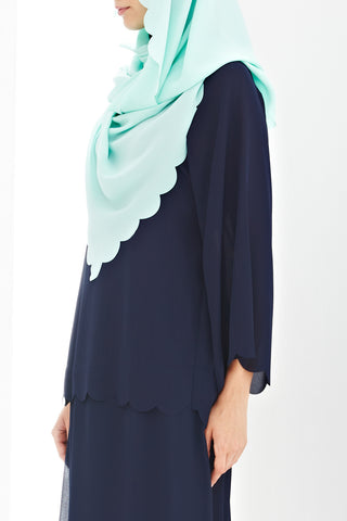 Marianne Top in Navy Blue